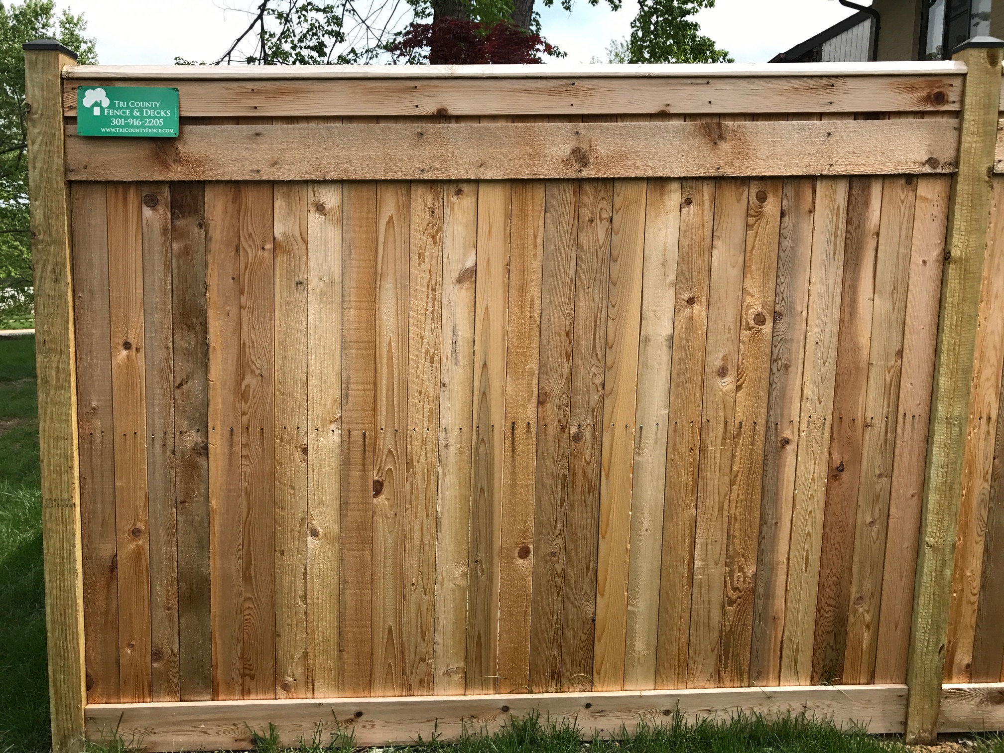 6 ft. Flat Board w/ Top and Bottom Trim