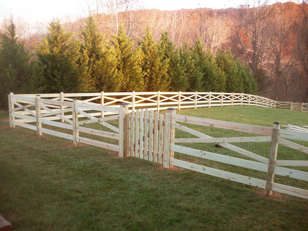 Wood Fencing Maryland